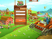 Big Farm - Login page